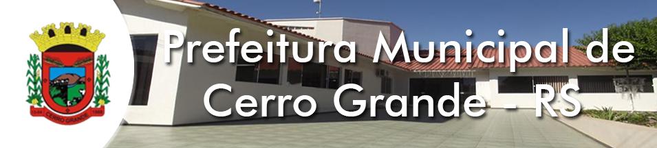 Prefeitura Municipal de Cerro Grande – RS